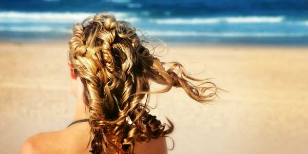 proteggere capelli sole