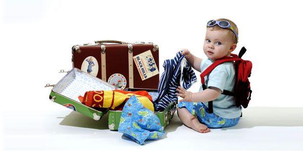 viaggiare neonato