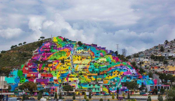 1. MacroMural Barrio de Palmitas