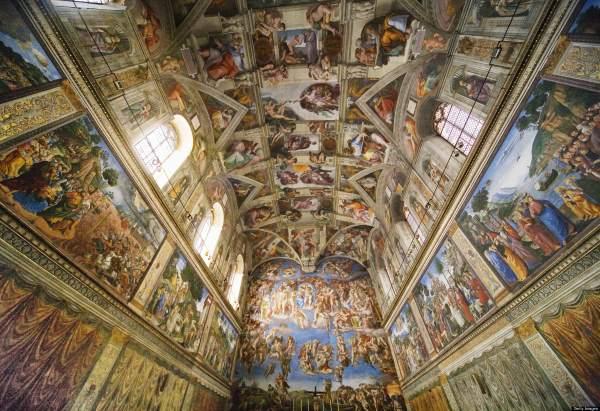 5. Cappella Sistina