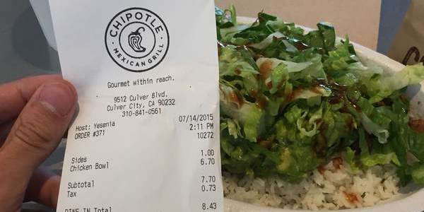 chipotle fast food