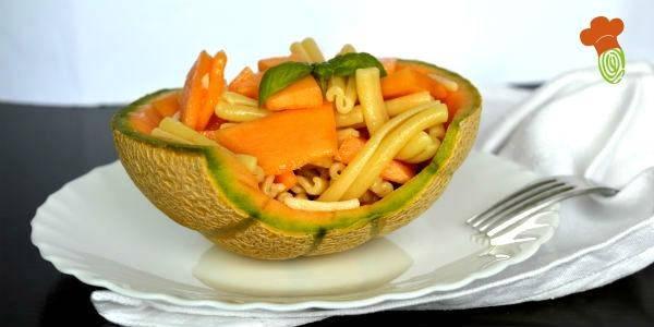 pasta fredda al melone