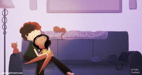 amore illustrazioni 23