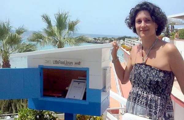 libreria in spiaggia taranto