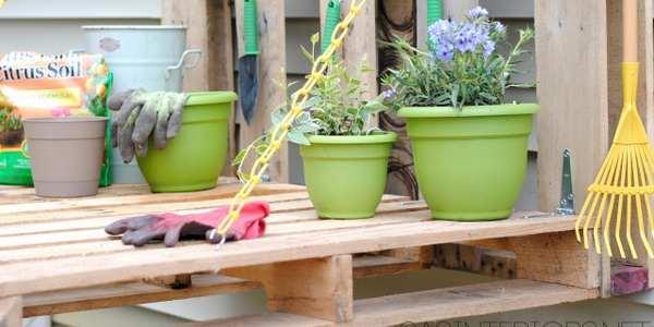 10 idee per arredare il giardino con i pallet - GreenMe.it