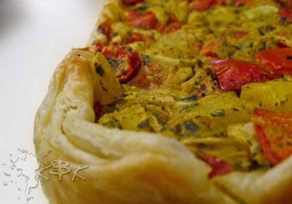 torta salata vegan 3