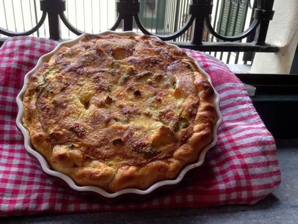 torta salata vegetariana 3 zucchine