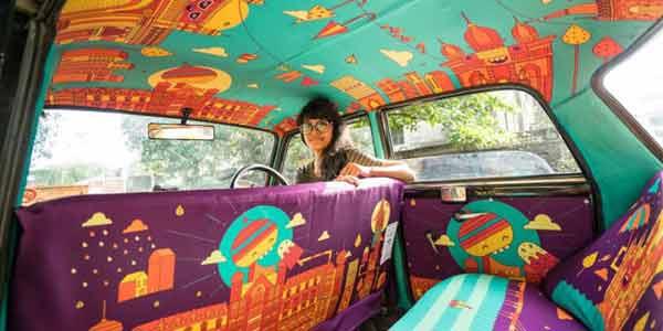 Taxi Fabric Mumbai cover