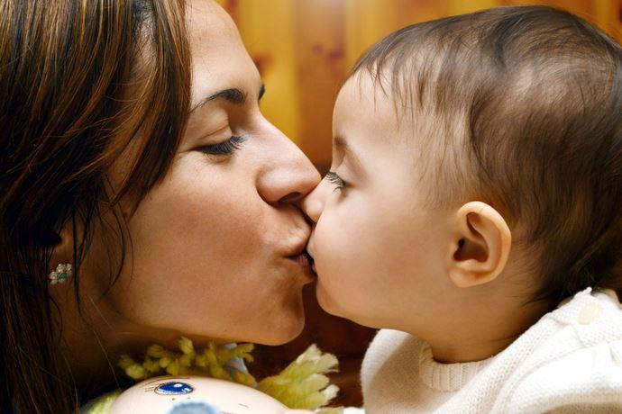 baci bocca bambini