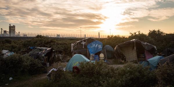 campo profughi calais