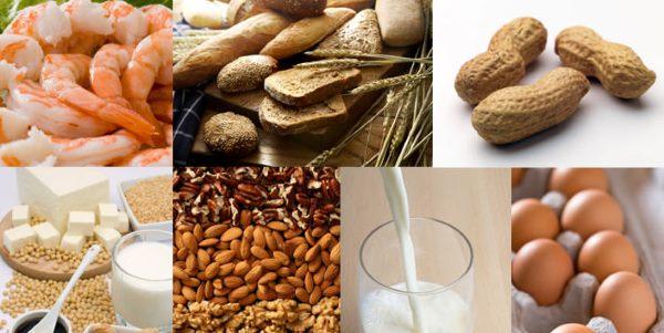 Allergie alimenti