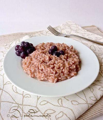 ricette uva 6 risotto