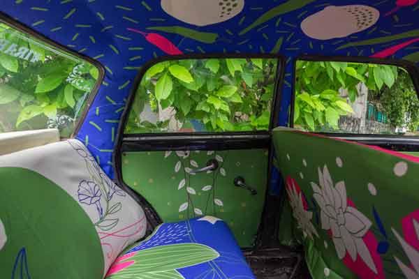 taxi india garden