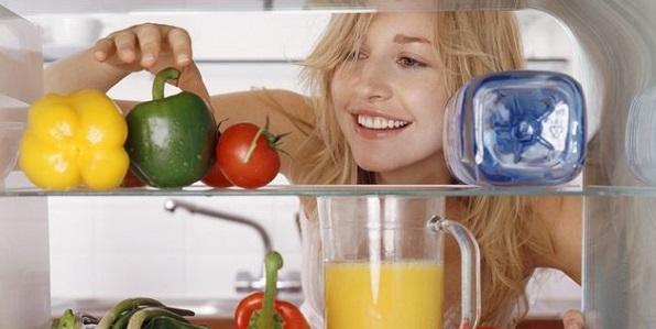 Come conservare i cibi nel frigo o su horizontal fixed