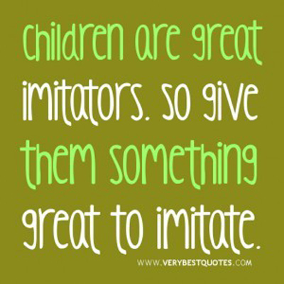 children imitators
