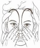 esercizio riflessologia facciale
