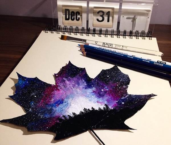 foglie decoro 11