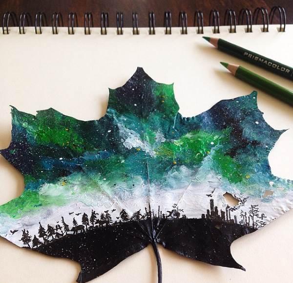 foglie decoro 5