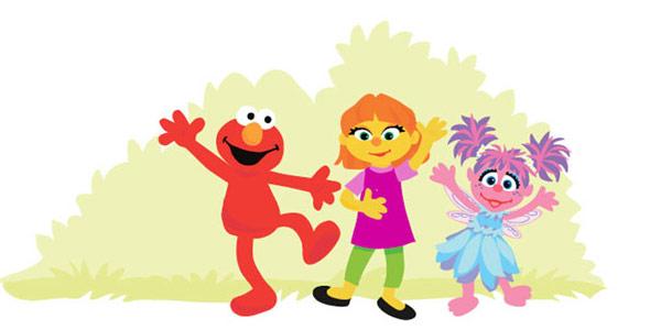 julia muppet autismo