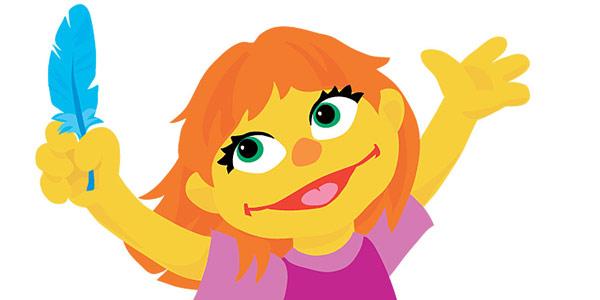 julia muppet autismo1