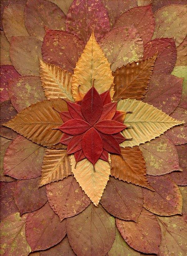 mandala foglie 4