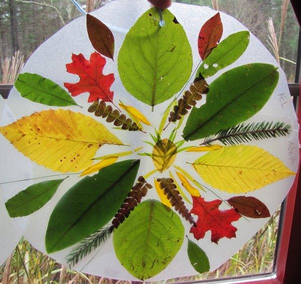 mandala foglie 5