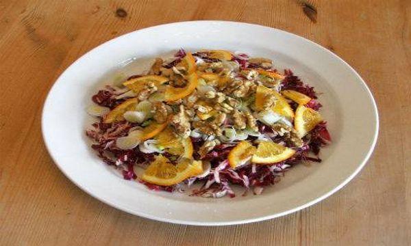 ricette radicchio 9 insalata