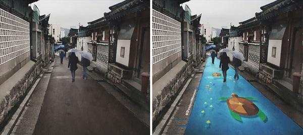 http static.boredpanda.comblogwp contentuploads201511street murals appear rain south korea 18