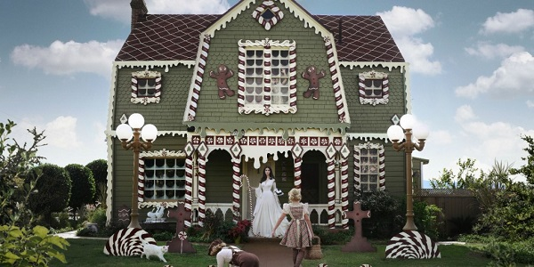 Gingerbread House Exterior Christine McConnell cover