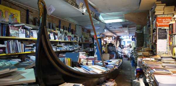 Libreria Acqua Alta Veneziacover