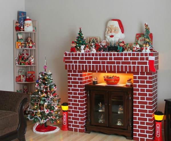 Decorazioni Di Natale Come Costruire Un Bellissimo Camino
