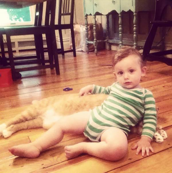 gatto bambino 6
