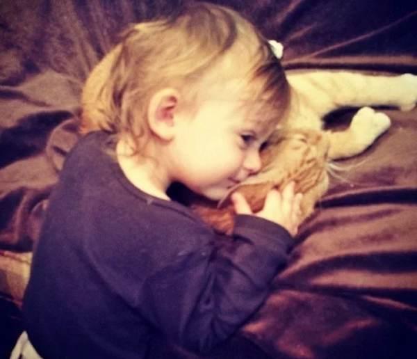 gatto bambino 8