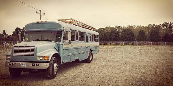 scuolabus tiny house