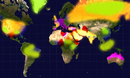 2016, mappa dei conflitti, crisi ambientali e migratorie