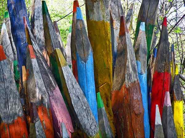 Parco del Sojo Vicenza matite legno di castagno 2005 arch Diego Morlin1