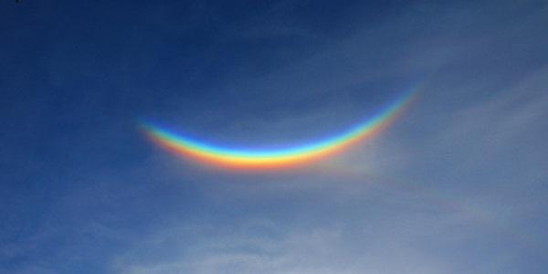 arcobaleno nuvola cover