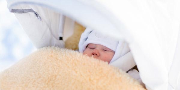 bebè freddo