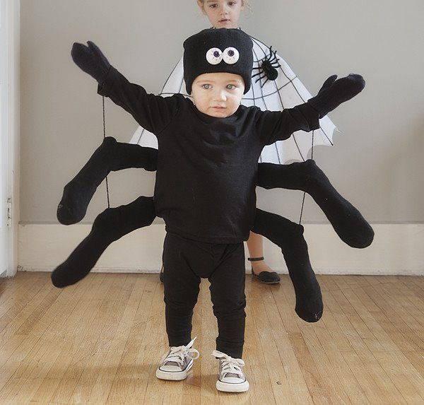 diy spider costume 1 600x573
