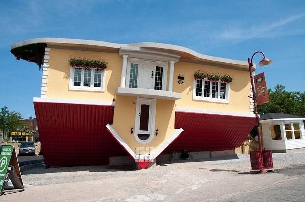 niagra falls upsidedown house 12