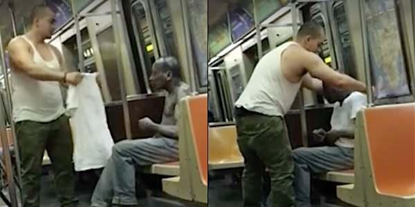 senzatetto metropolitana news york