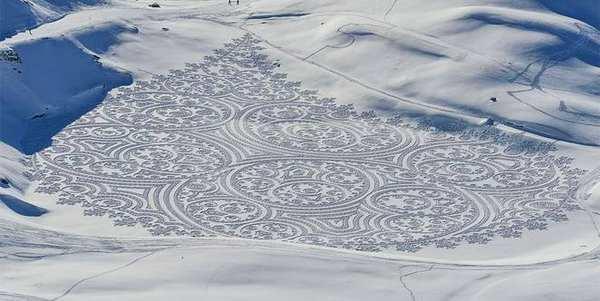 snow art cover