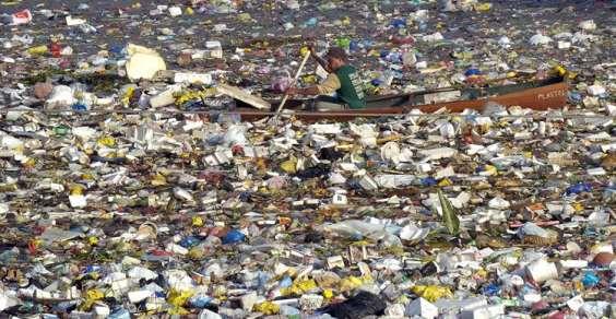 Oceano plastica