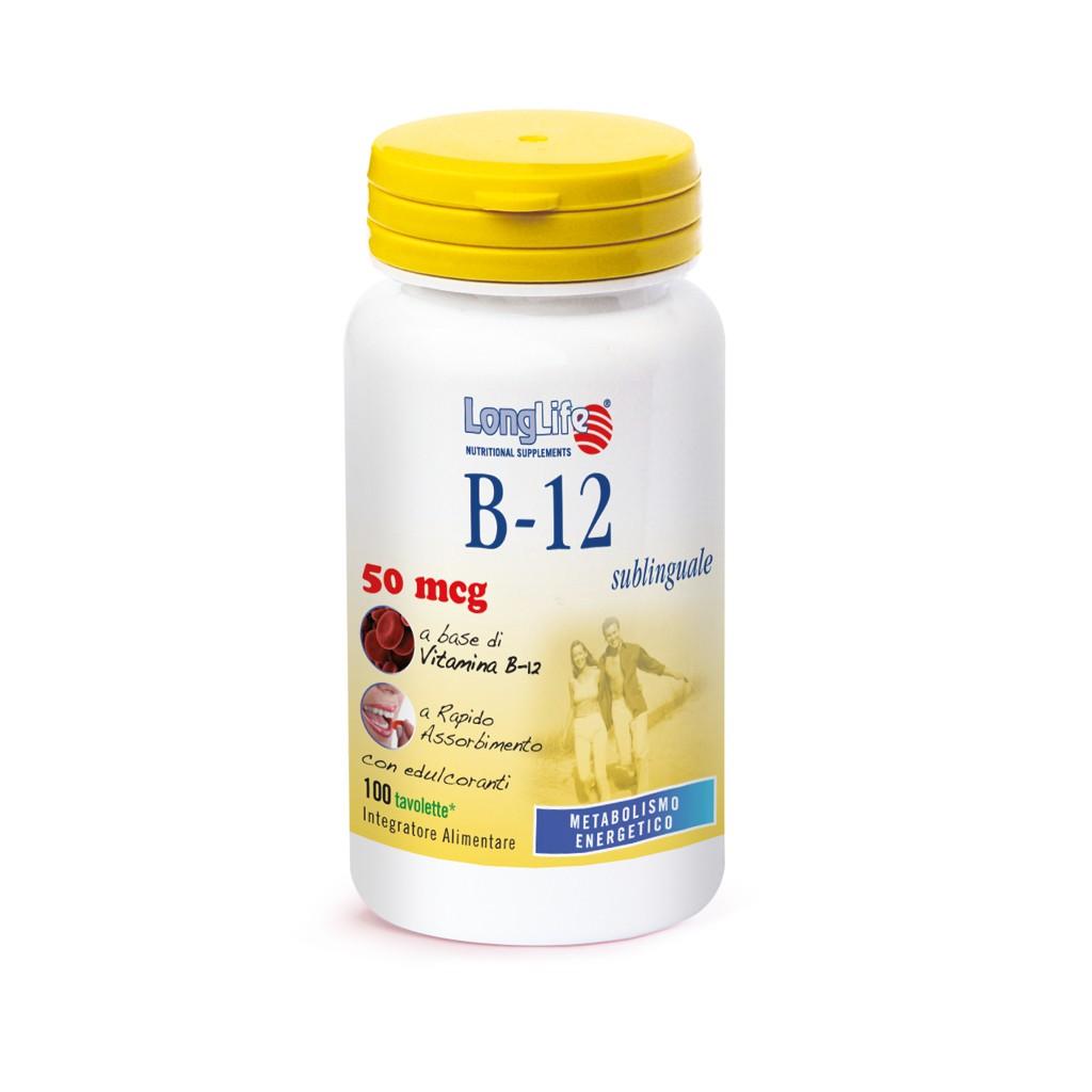 B 12 SUBLINGUALE LONG LIFE
