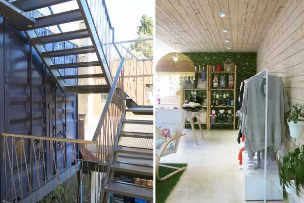 BZZ Arquitectura shipping container mall QUO Container Center Buenos Aires 10 1