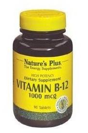 COBALAMINA B12 NATURES PLUS 2