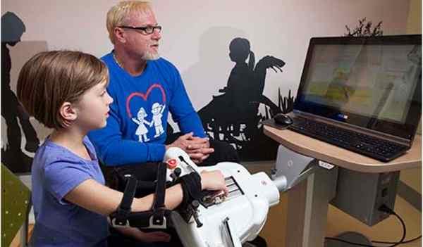 robot riabilitazione bambini