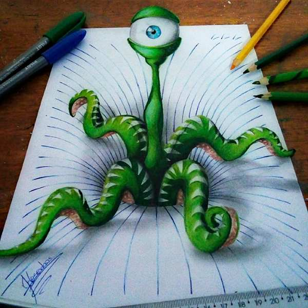 3d lines notepad drawings joao carvalho 10