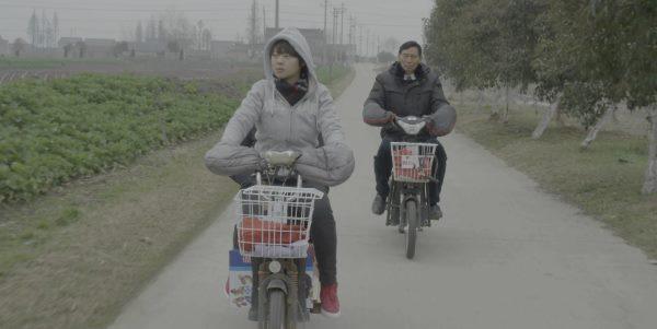 ITCC Cherry on bike