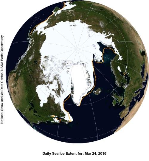 ghiaccio artico marzo2016